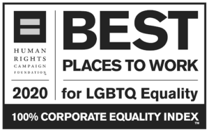 Logo - Human Rights Best Places to work for LGBTQ Equality